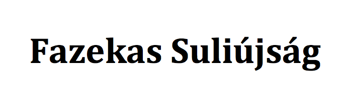 Fazekas Suliújság