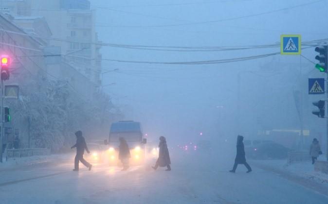 Szibéria utcái